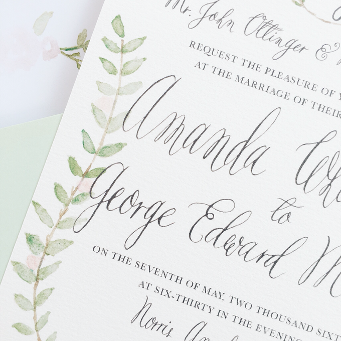 Botanical Suite by Meilifluous Calligraphy & Design - 002