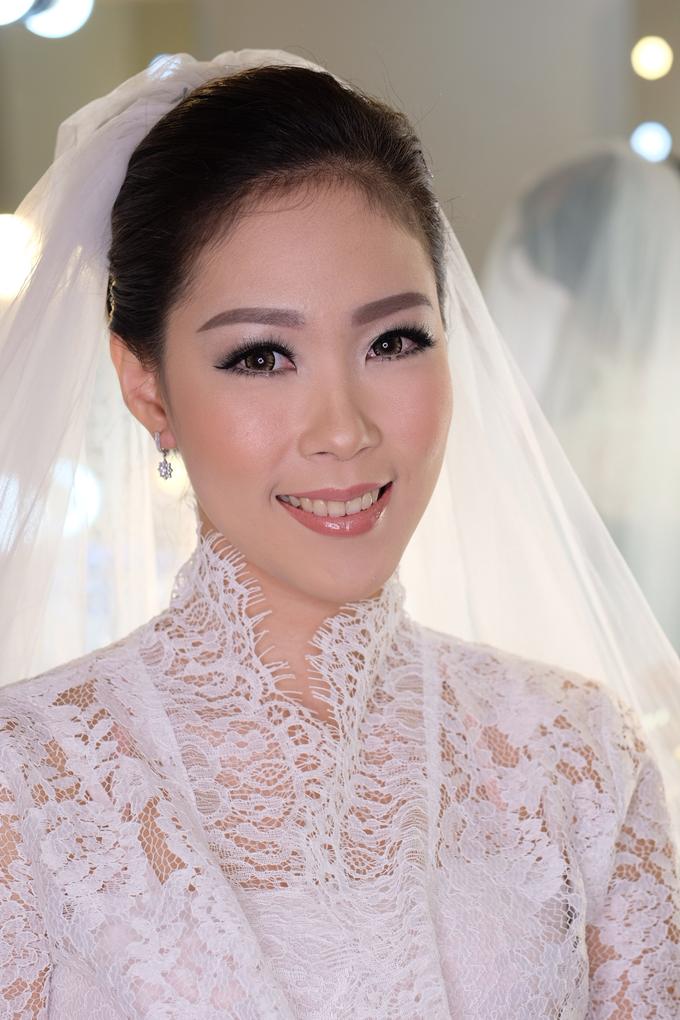 Ria wedding makeup by Amanda Makeup Artist - 013
