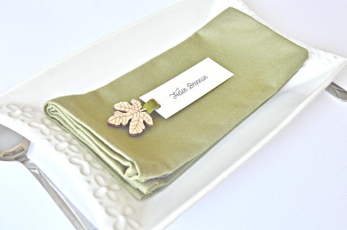 Fall name tags by Jasmine wedding prints - 002