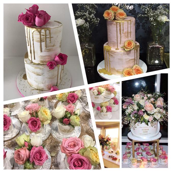 Custom designed wedding cakes . by Cake4me - 002