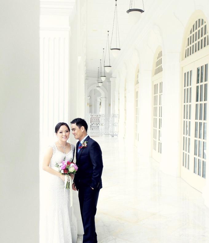 Sam & Ivy's Wedding by YRegina Makeup - 001