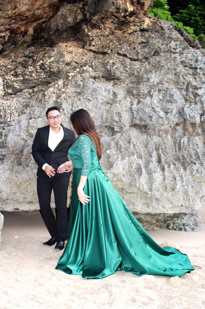 PLUS SIZE DRESS FOR PRE WED PHOTOSHOOT (A&I) by TS BRIDAL BALI - 006