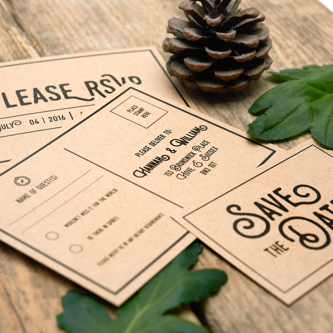 Forest template design by Vicky Perry Wedding Stationery - 006