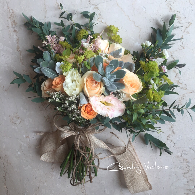 Bridal Bouquets by Country Victoria - 001