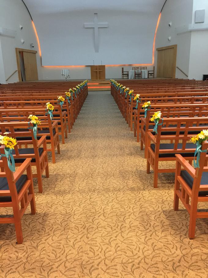 Sunflowers wedding by ilmare Wedding - 018