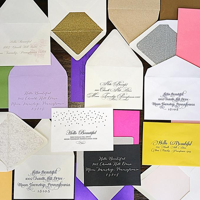 Wedding stationery portfolio  by Hello Beautiful Designs - 002