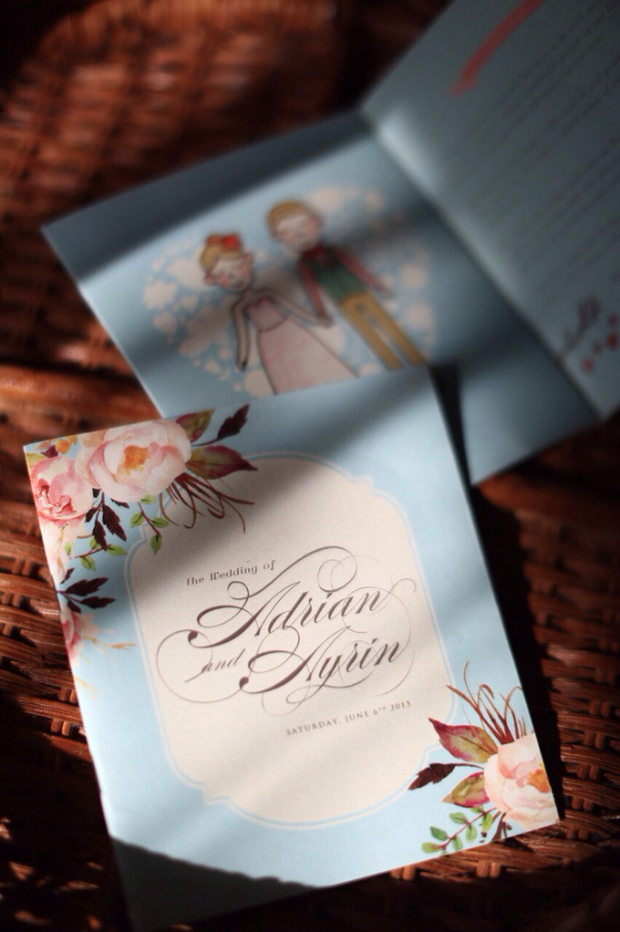 The Summer Breeze by Forget Me Not Invitation - 004