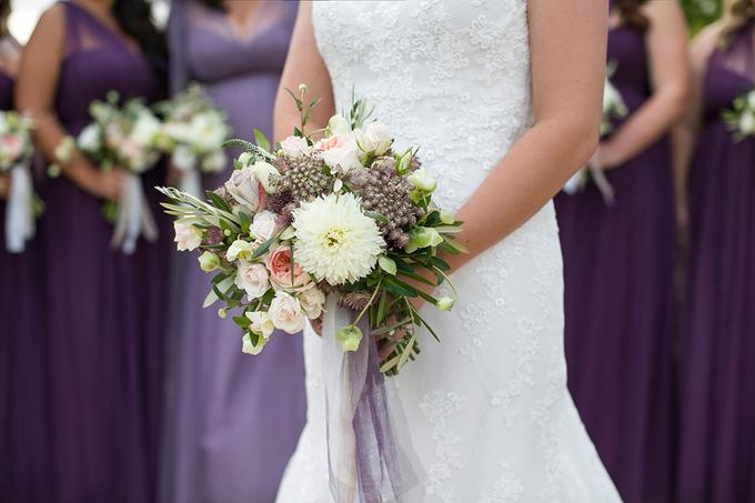 Garden + Lavender Wedding by Shindig Chic - 002