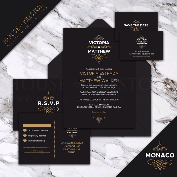 Wedding Invitations by House Of Preston - 004