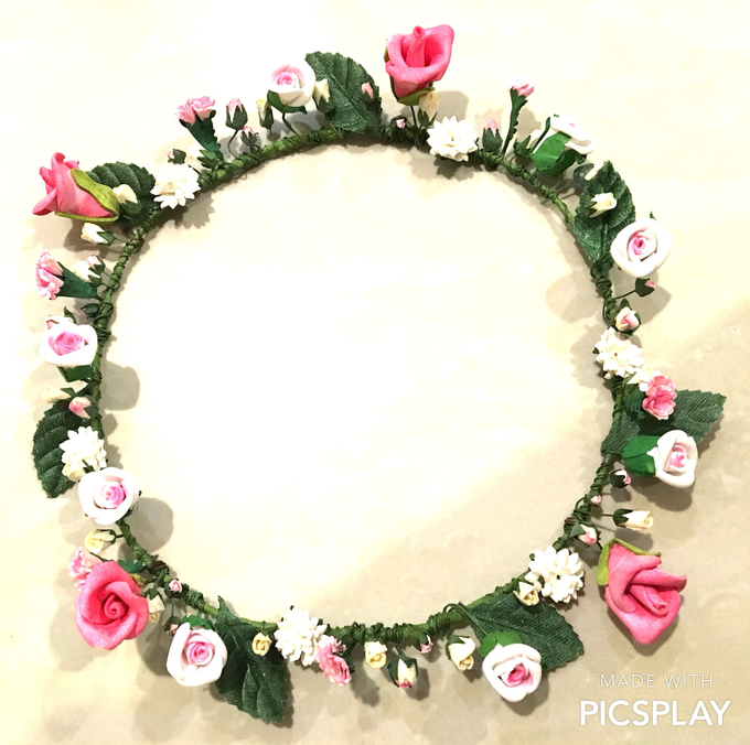 Flower Crown - Import Flowers  by Wedding Needs - 008