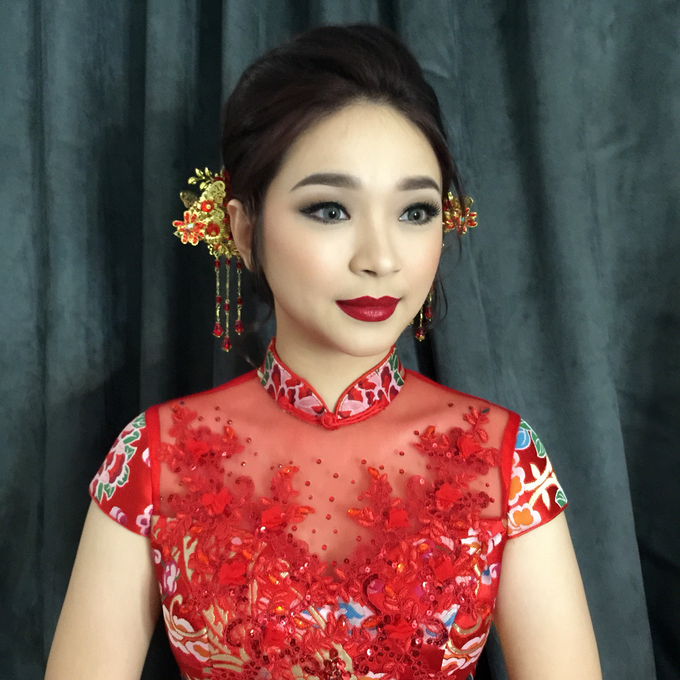 Wedding Makeup Oriental Looks by Noveo Alexander Professional Makeup Artist - 001