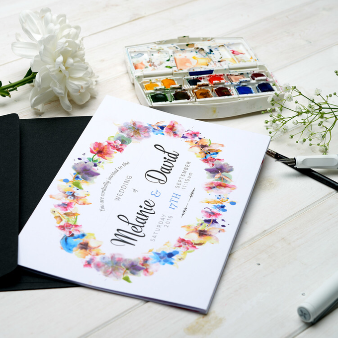 Bespoke designs by Vicky Perry Wedding Stationery - 008