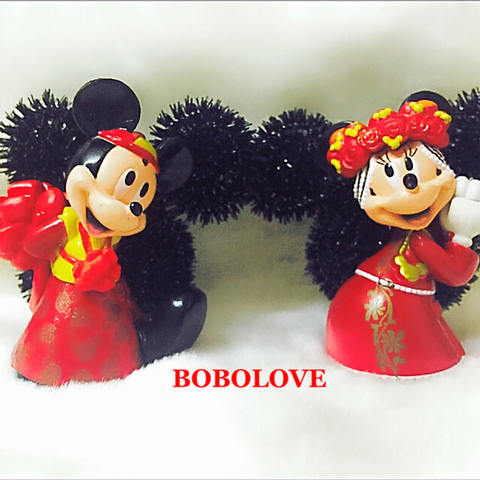 Mickey and Winnie corsage by bobolove cottage - 003