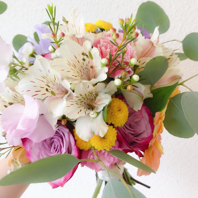 Prewedding bouquet by Liz Florals - 004