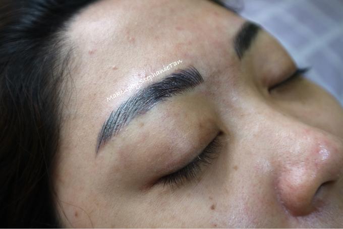 6d Eyebrow Embroidery For Ms Sylviana By Makeupbystephanietan