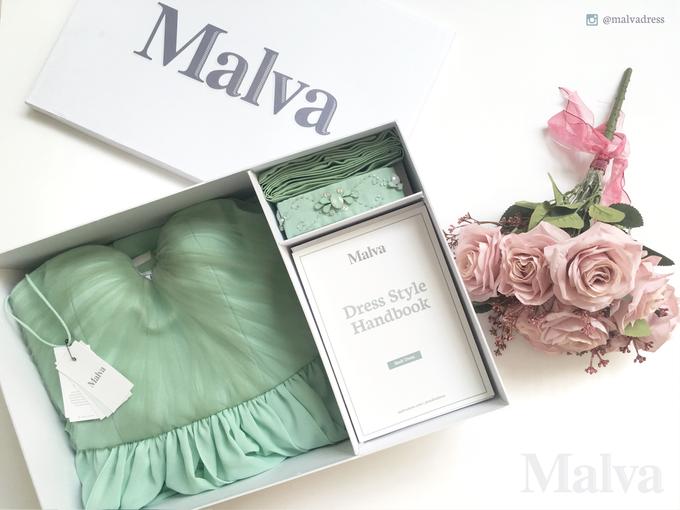 Shell Dress by MALVA Bridesmaids - 009