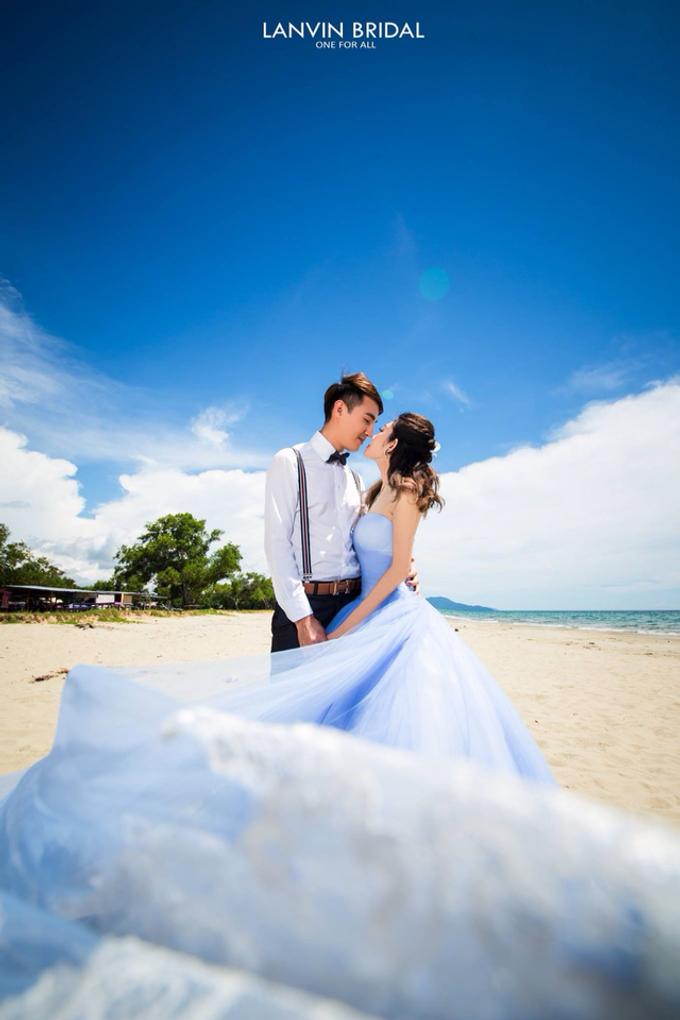 Local photo shooting (beach) by lanvin bridal - 003