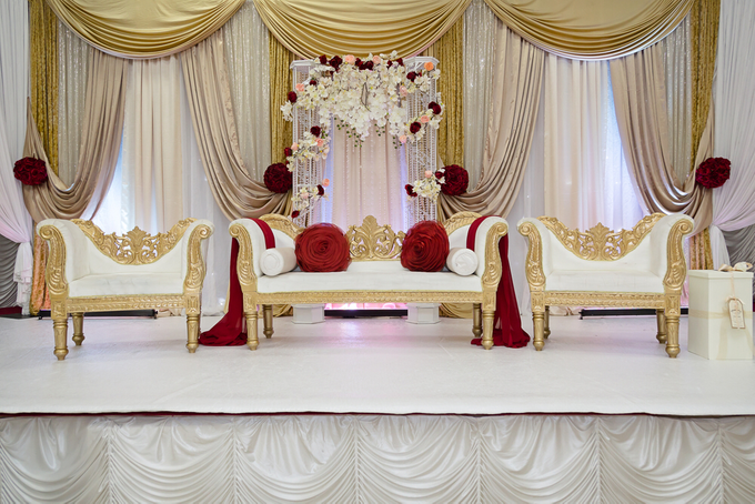 Beautiful cultural Indian wedding by Merit Events - 005