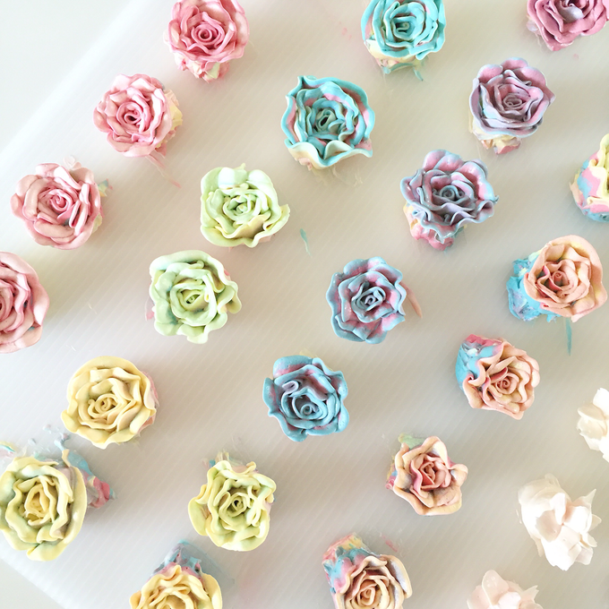 Floral cupcakes by The Rosette Co - 013