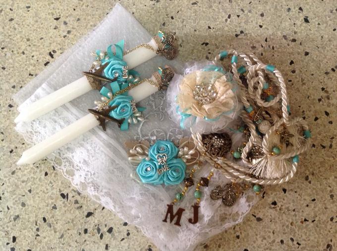 rustic travel themed wedding accessories by Duane's Fleur Creatif - 011