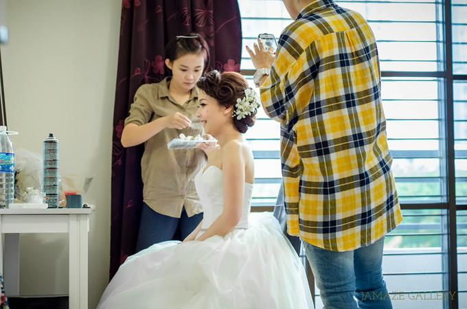 Kah Pei & Sook Kwan Wedding Ceremony by Jamaze Gallery - 002