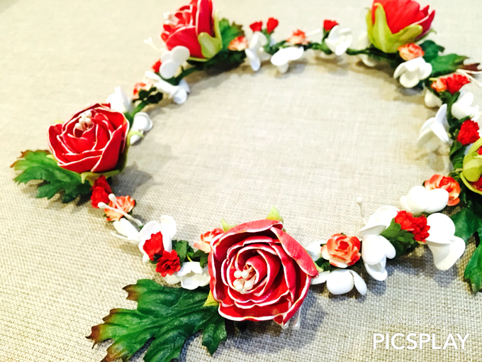 Flower Crown - Import Flowers  by Wedding Needs - 011