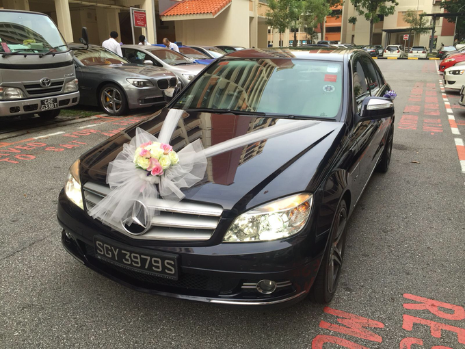 Wedding car decorations  by PERFECT WEDDING CAR SG - 002