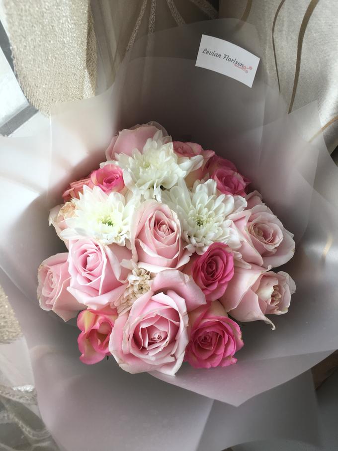 Pink Velvet Bouquet  by Levian Florisen - 001