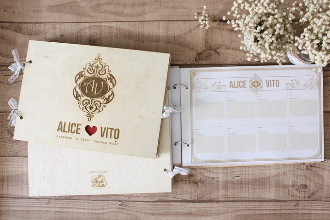 WEDDING GUESTBOOK by The Bride and Butter - 009