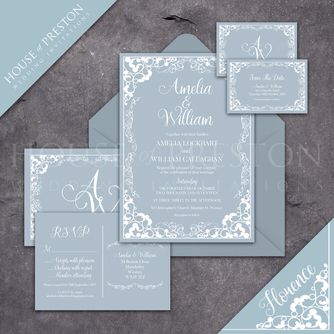 Wedding Invitations by House Of Preston - 007