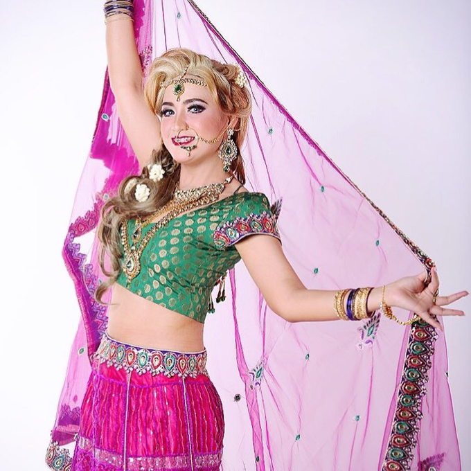India and Princess  by LCK Makeup Artist - 006