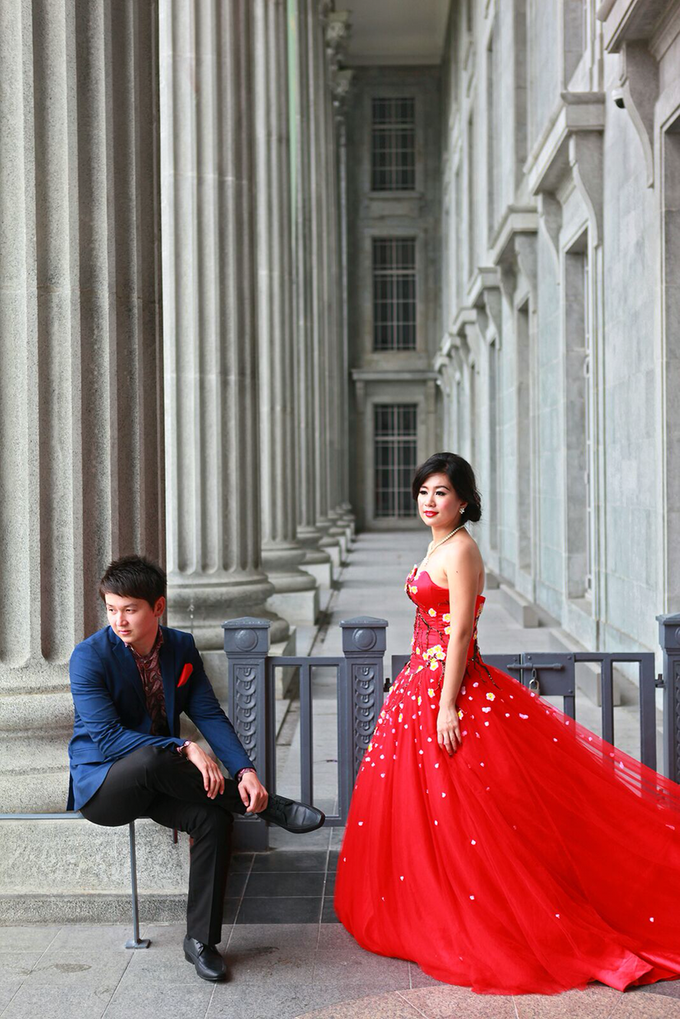 Fendi & Shella Pre- Wedding Shoot by YRegina Makeup - 005