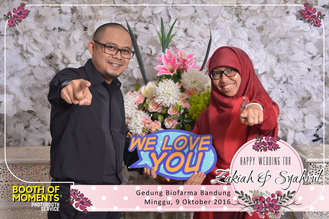Full of Flowers Wedding by Booth of Moments - 005