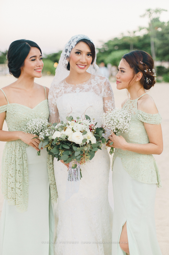 Bali Wedding : Acha & Andy Holy Matrimony by Elsie Chrysila Brides - 029