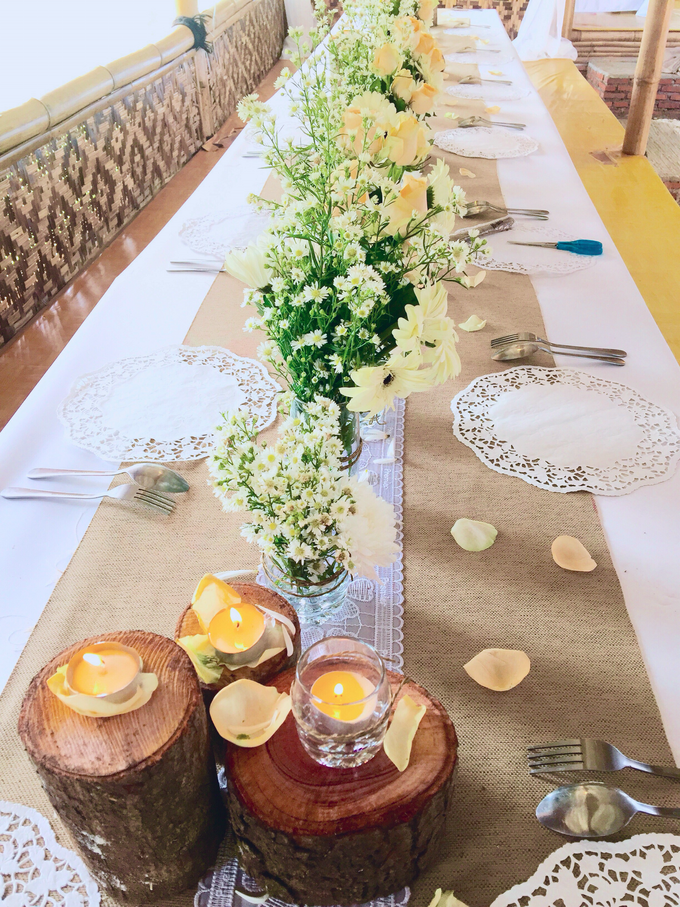 Setting Table Arrangement Rustic Modern by H2 Design.co - 003