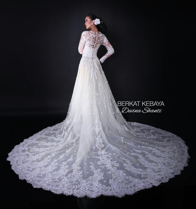 Wedding Gowns by Berkat Kebaya By Devina Shanti - 001