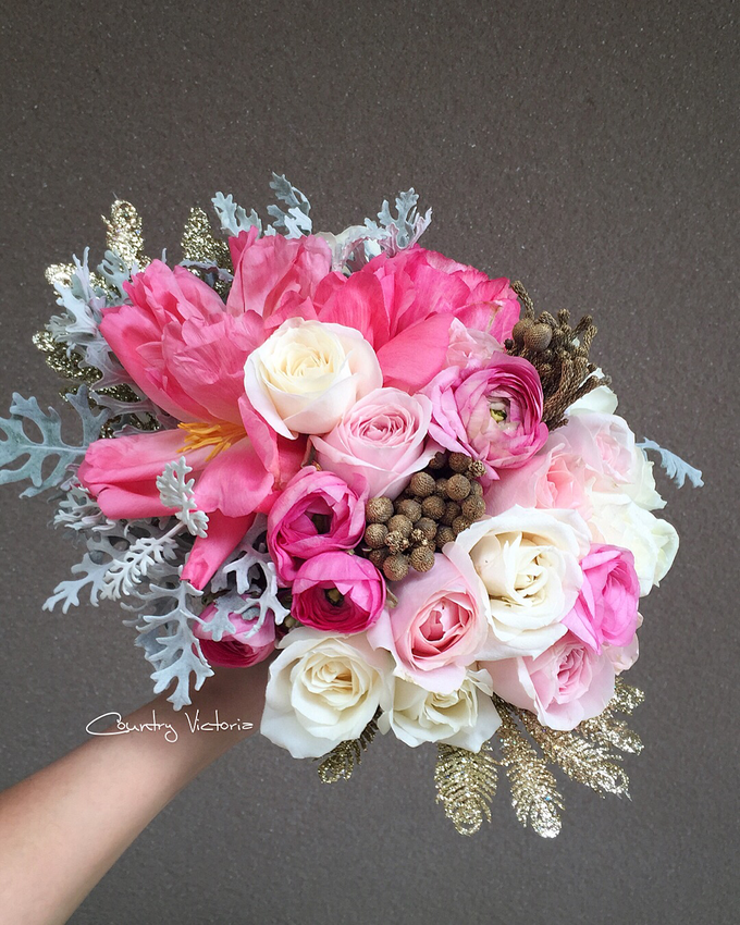 Bridal Bouquets by Country Victoria - 020