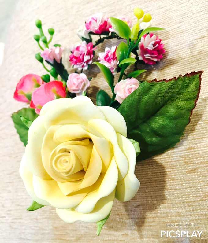 Handmade Flower Corsage by Wedding Needs - 002