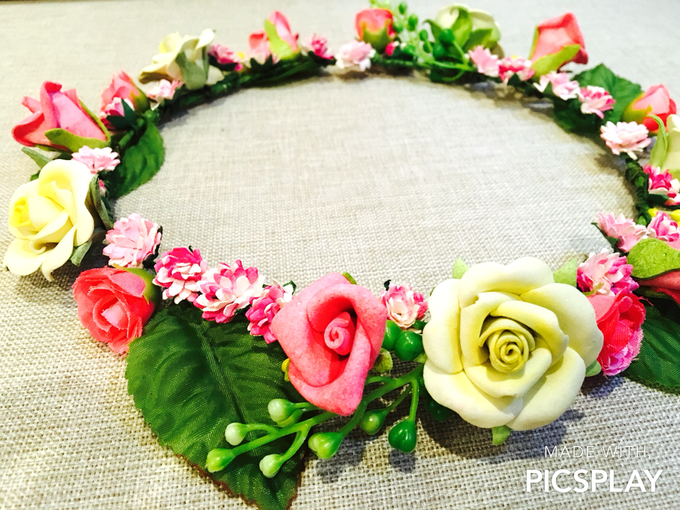 Flower Crown - Import Flowers  by Wedding Needs - 014
