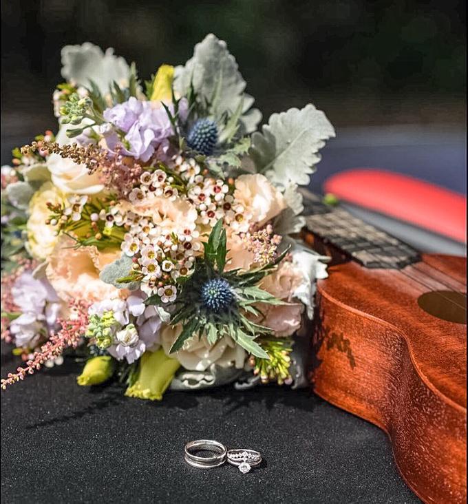 Rustic Bridal Bouquet by Liz Florals - 002