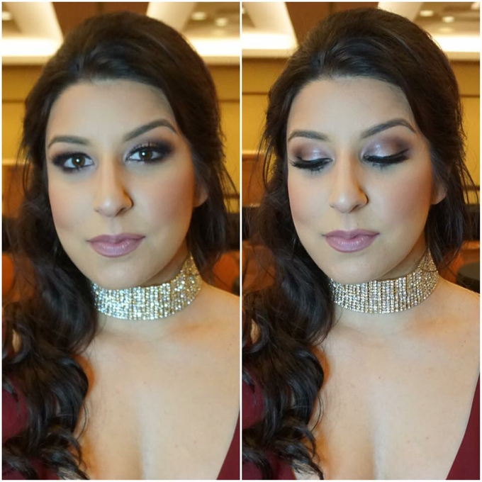Bridal makeup and hair  by Lilianbeauty - 024