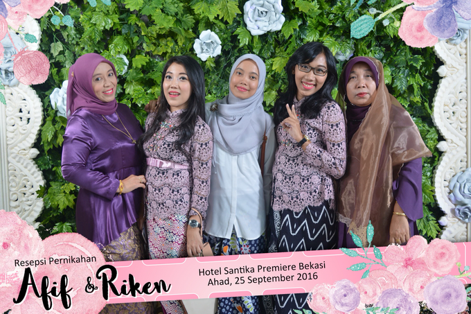 Afif & Riken Wedding by Booth of Moments - 005