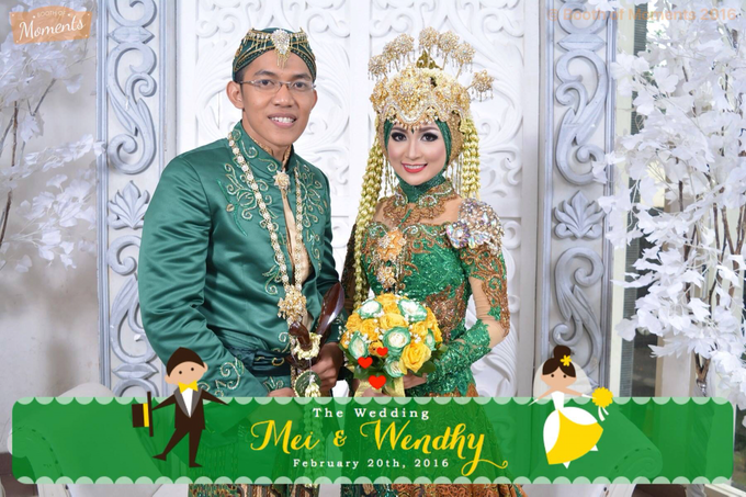 Mei & Wendhy Wedding by Booth of Moments - 002