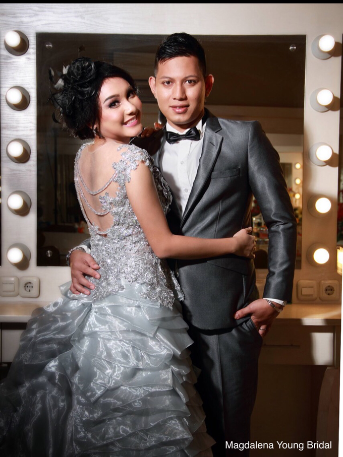 Prewedding indoor by Magdalena Young Bridal - 004