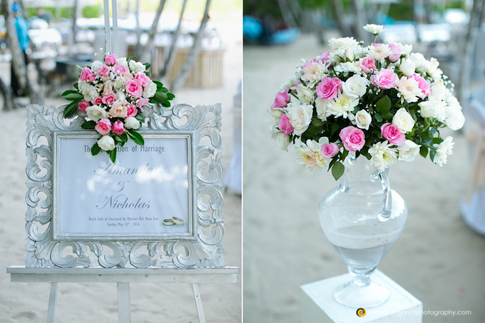 Amanda & Nicholas Wedding by Courtyard by Marriott Bali Nusa Dua - 018