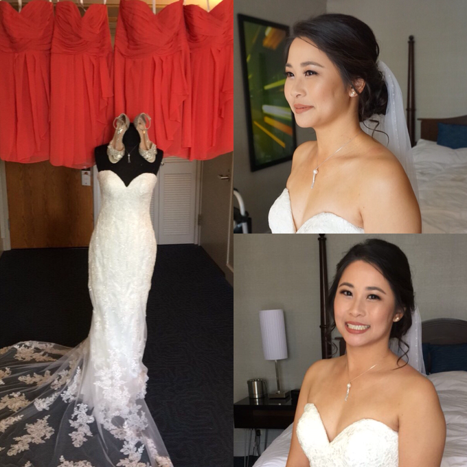 Bridal makeup and hair  by Lilianbeauty - 009