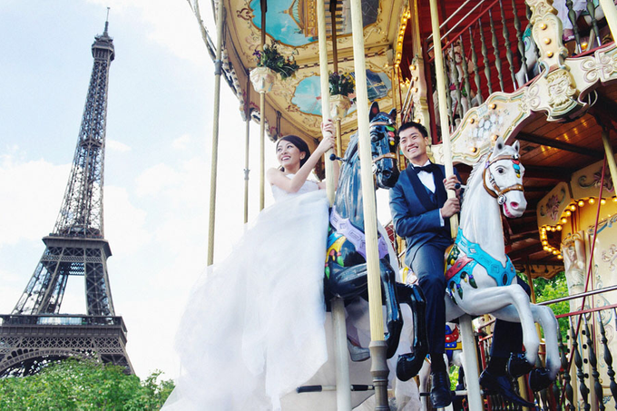Romance in Paris by Derrick Ong Photography - 002