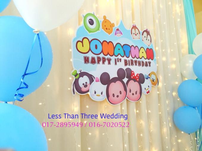 Birthday Decoration by Less Than Three Wedding - 030