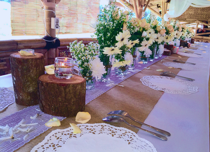 Setting Table Arrangement Rustic Modern by H2 Design.co - 004
