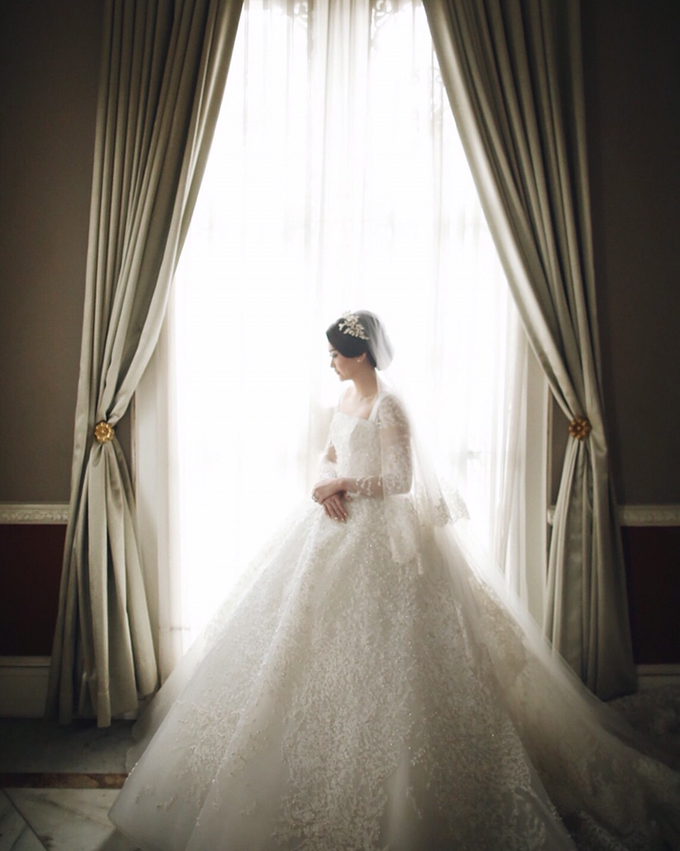 Yanuar & Stephanie Rusli Wedding Day by Yogie Pratama - 004